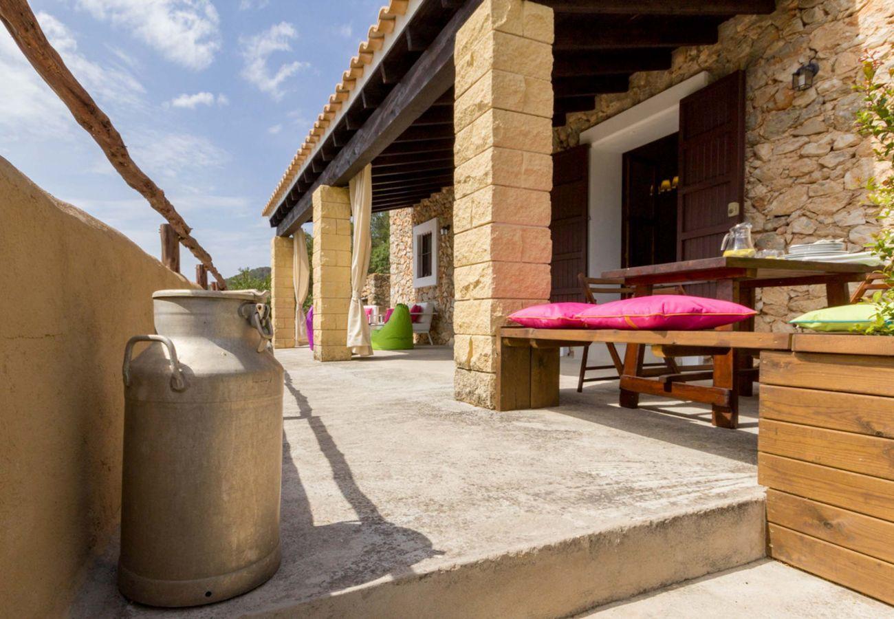 Ferienhaus in San Rafael de Sa Creu/ Sant Rafael de Sa Creu - CASA PEPITA