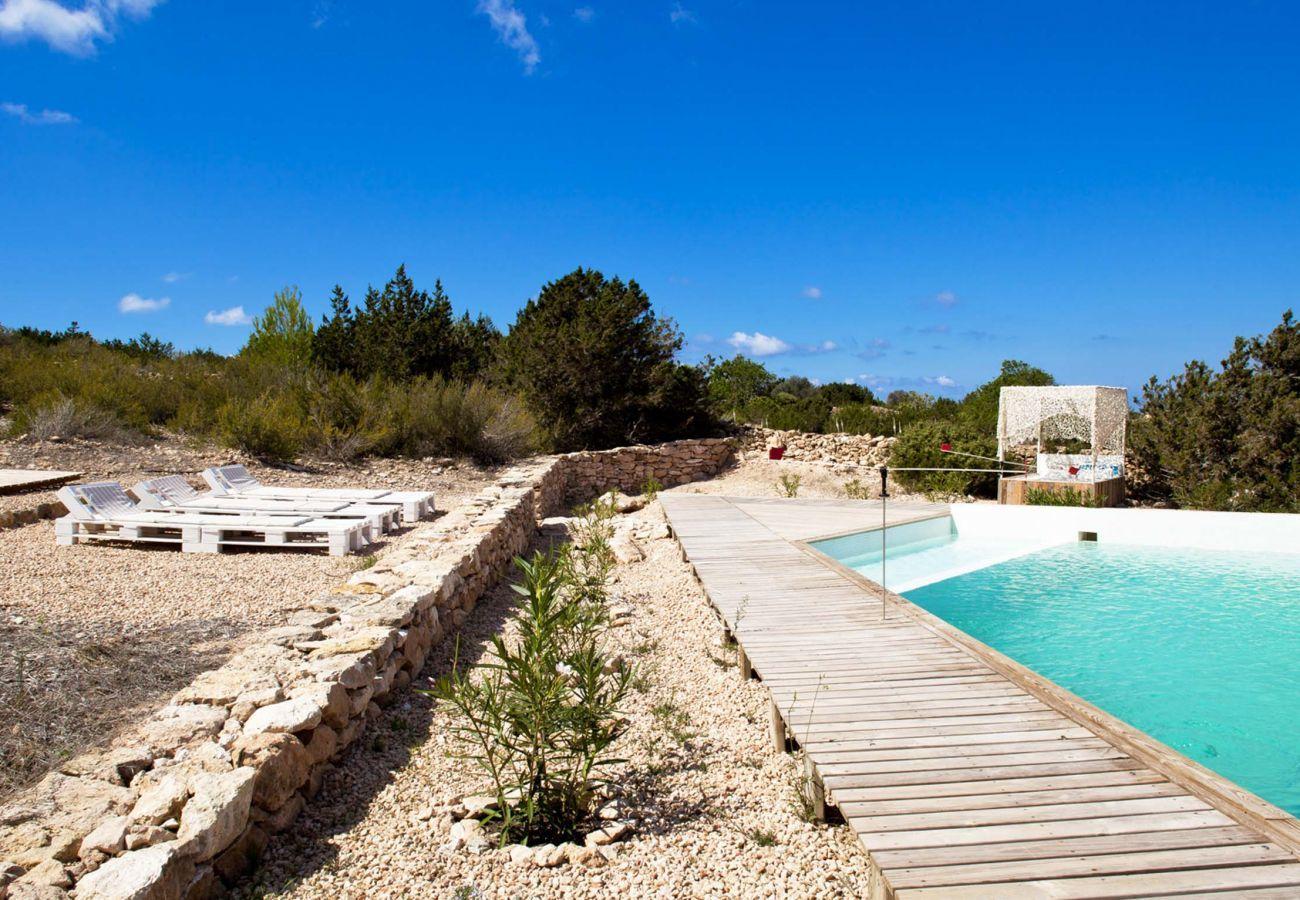 Ferienhaus in Sant Francesc de Formentera - CASA FORMENTERA
