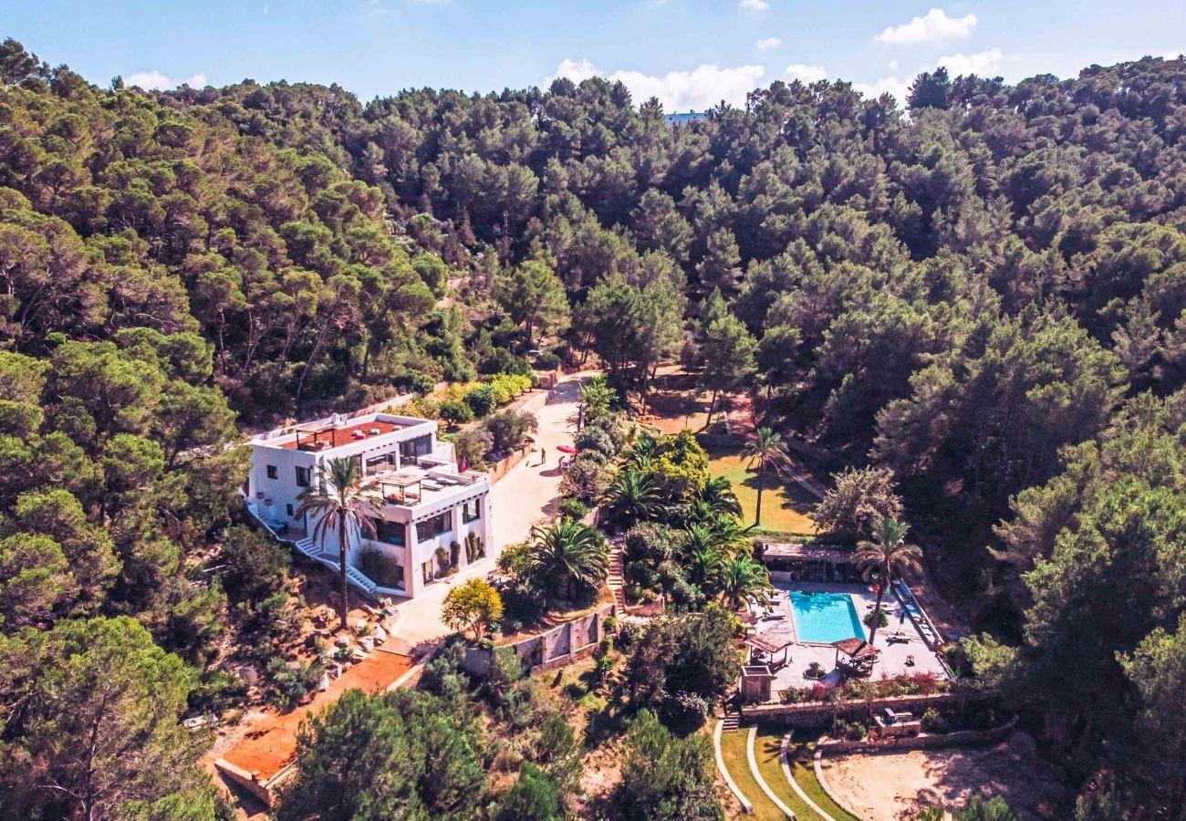 Villa in Santa Eulària des Riu - VILLA ALOE VALLEY